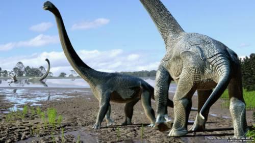 Как динозавры совершали межконтинентальные путешествия
