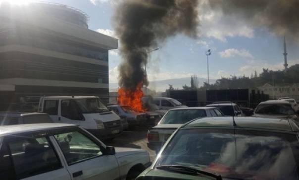 В центре Стамбула горела больница