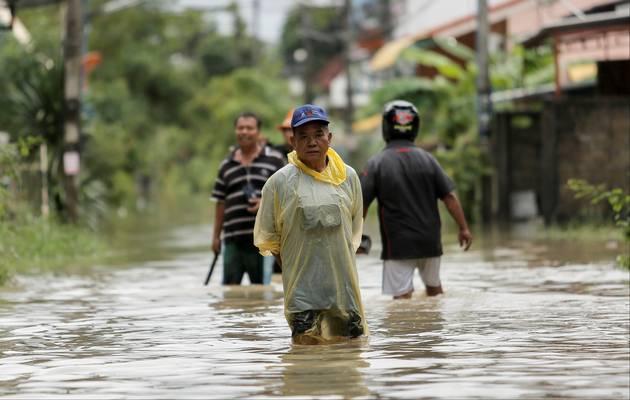 Наводнения в Таиланде забрали жизни 25 человек