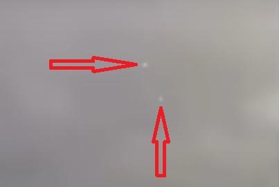 Массовое появление НЛО вдоль границы Мексики