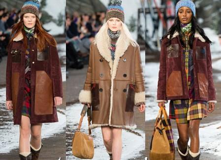 Какие дубленки будут в моде зимой 2017-2018