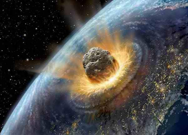 По Земле может ударить астероид
