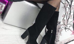 Модные сапожки зимы
