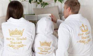 Заказать именной халат: мужской, женский, детский