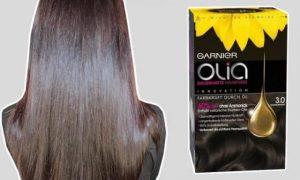 В чем эксклюзивность красок для волос Olia от Garnier?